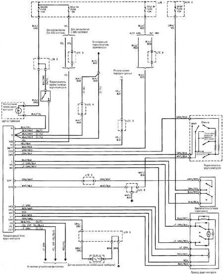 12.13 Круиз-контроль 4-цилиндрового двигателя