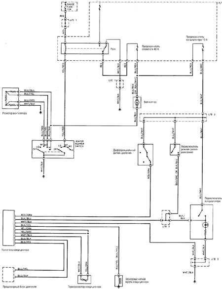 12.14 Отопитель и кондиционер (1997-98 г.г.)
