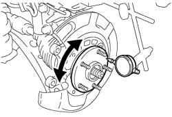 3.4.3 Проверка на автомобиле Toyota Camry