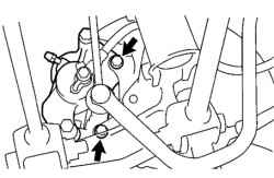 3.4.7.2 Снятие Toyota Camry