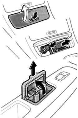 1.2.5.5 Прикуриватель и пепельницы Toyota Camry