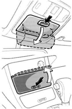 1.2.5.9 Вспомогательный вещевые ящики Toyota Camry