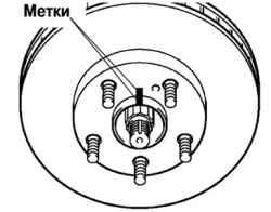 6.11.7 Измерение биения тормозного диска