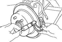 6.12.4 Измерение толщины тормозного диска