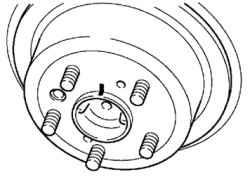 6.12.5 Измерение биения тормозного диска