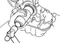 4.9 Замена переднего уплотнительного кольца коленчатого вала