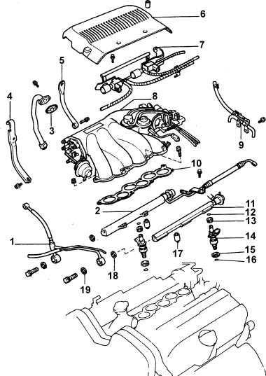 7.16  Камера воздухозаборника (только двигатели V6)