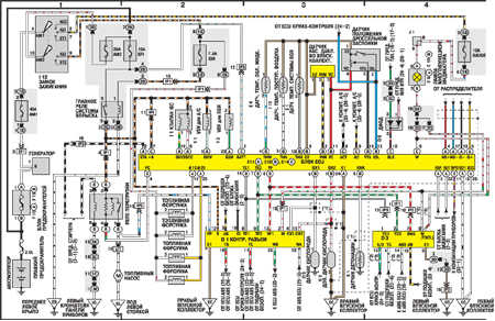 Toyota vista электрическая схема фото 140