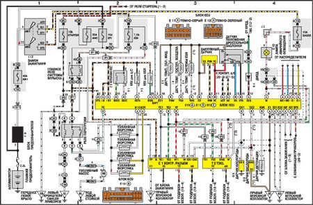 Toyota vista электрическая схема фото 33