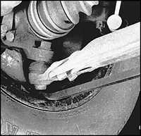 2.20 Проверка рулевого управления и подвески