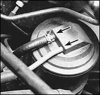 2.26 Проверка системы, контролирующей выделения паров топлива