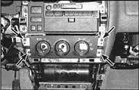5.2 Панель управления обогревателем и воздушным кондиционером