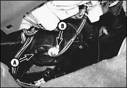 4.8 Электрическая цепь мотора нагнетательного вентилятора