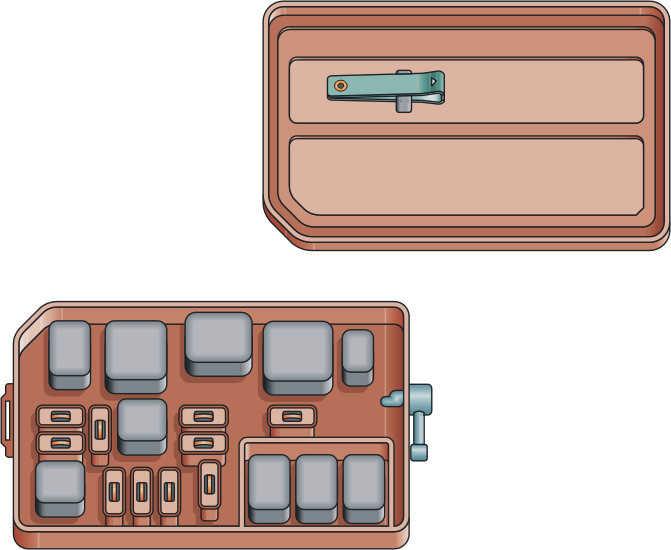тормозная система тойота калдина схема