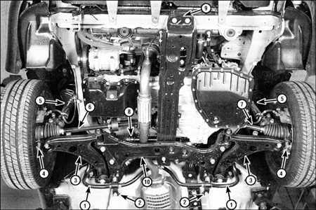 10.0 Подвеска и рулевое управление