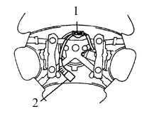 10.16 Рулевое колесо Toyota Corolla