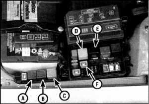 4.4 Вентилятор и реле включения вентилятора