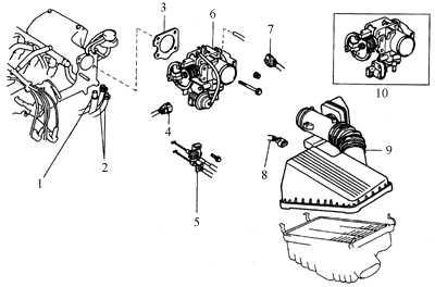 5.12 Проверка и замена агрегатов EFI -системы