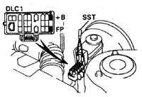 5.3 Топливный насос и давление топлива Toyota Corolla