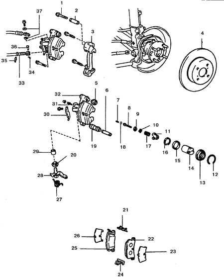 9.6 Суппорт задних дисковых тормозов
