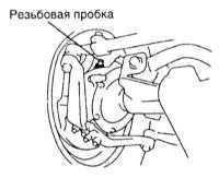 3.15 Смазывание компонентов шасси Toyota Land Cruiser