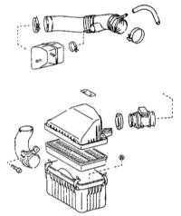 3.23 Замена фильтрующего элемента воздухоочистителя Toyota Land Cruiser