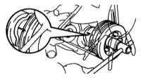 3.29 Проверка и регулировка зазоров клапанов Toyota Land Cruiser