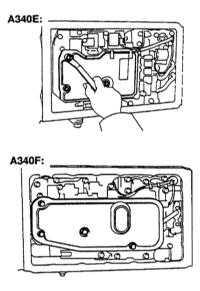 3.34 Замена ATF автоматической трансмиссии и главной передачи Toyota Land Cruiser