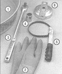 3.8 Замена двигательного масла и масляного фильтра
