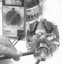 7.13 Проверка состояния и замена компонентов генератора Toyota Land Cruiser