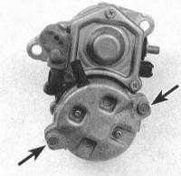 7.17 Снятие и установка тягового реле Toyota Land Cruiser