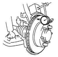 11.5 Проверка состояния, снятие и установка тормозного диска