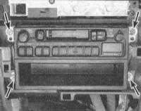 14.15 Снятие и установка аудиосистемы и ее динамиков