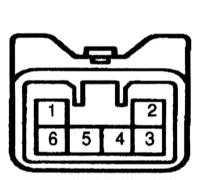 14.18 Проверка исправности функционирования и замена выключателя обогрева   заднего стекла