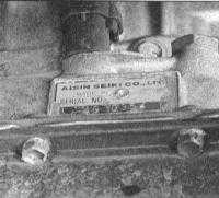 1.2 Идентификационные номера автомобиля Toyota Land Cruiser