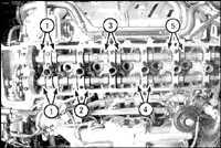 2.44 Зазоры в клапанах на двигателе 1FZ-FE
