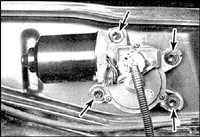 11.11 Электродвигатель стеклоочистителя