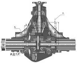 6.5.10 Регулировка подшипников главной передачи переднего моста УАЗ 3163
