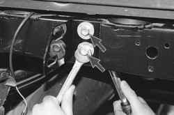 11.2.3 Снятие, разборка и установка заднего бампера УАЗ 31519