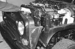 11.5 Снятие и установка облицовки радиатора УАЗ 31519