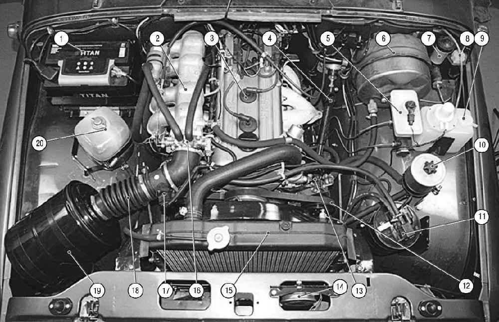 Схема двигателя змз-409