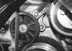 5.7 Замена ремня привода генератора и водяного насоса УАЗ 31519