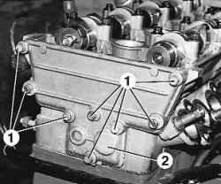 5.14.5 Разборка, ремонт и сборка головки блока цилиндров