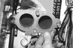 5.19.3 Снятие и установка приемной трубы УАЗ 31519