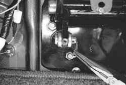 6.1.7 Снятие и установка педали сцепления УАЗ 31519