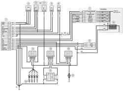 18.1 Схема 1. Соединения системы управления двигателем мод. ЗМЗ-5143.10