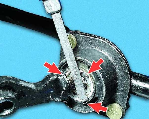 Фото №16 - ремонт рычага переключения передач ВАЗ 2110