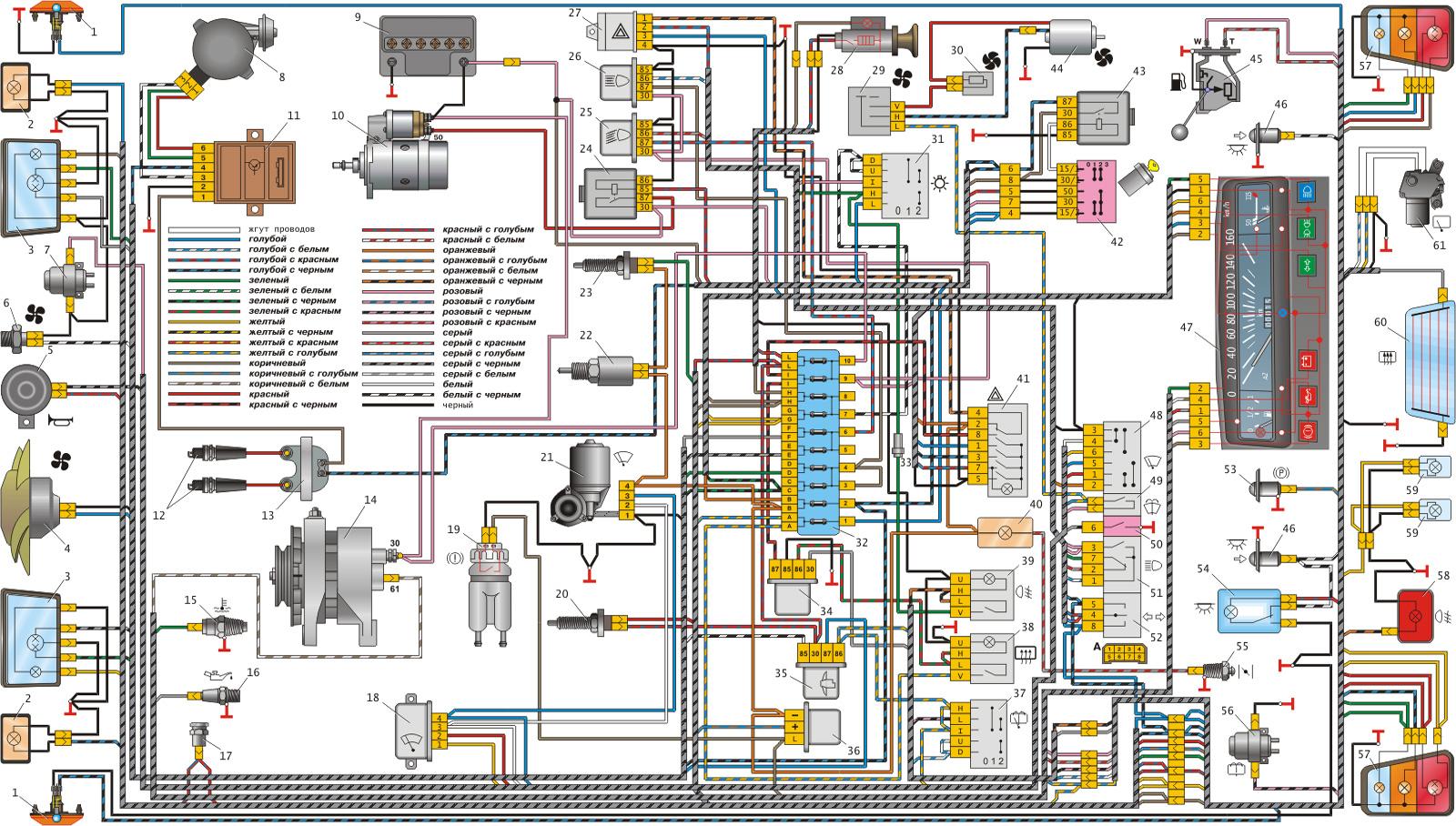 Схема машины оки-1111