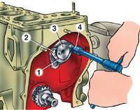 3.4 Разборка двигателя ВАЗ 2101