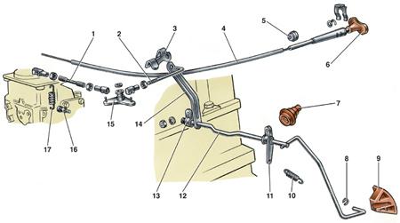 4.2.6 Снятие и установка карбюратора на автомобиле